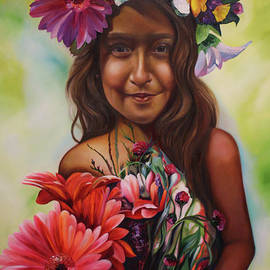 Flower Girl  by Barbara Rivera