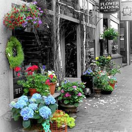 Brenda Spittle - Flower Kiosk In Portsmouth