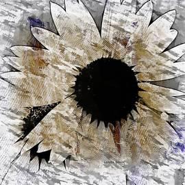 Flower Mandala  by Lenore Senior