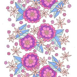 Flower Power 9 by Roberta Dunn