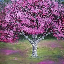 Flowering Tree by Mishel Vanderten