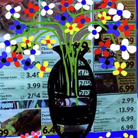 Anand Swaroop Manchiraju - Flowers And Vase-3