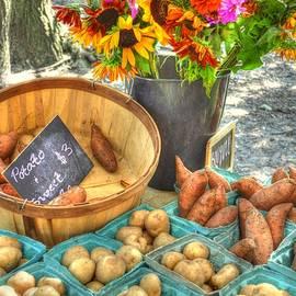 Linda Covino - Flowers and veggies