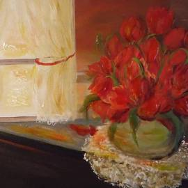 Jacqueline Whitcomb - Flowers by the Window