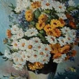 Flowers Field by Sorin Apostolescu