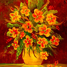 Flowers For Her by Sandra Young Servis
