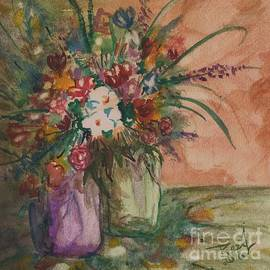 Flowers In Vases 2 by Reed Novotny