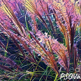 Flowers Of My Mind by Patty Vicknair