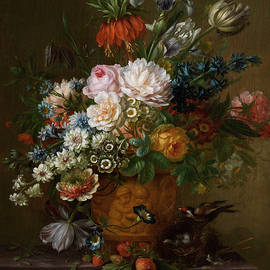 Willem van Leen - FLOWERS STILL LIFE