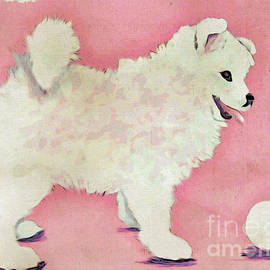 Fluffy Pup by Phyllis Kaltenbach