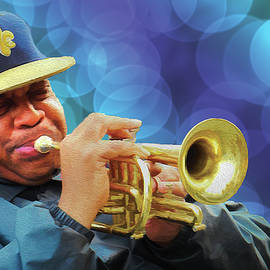 Flugelhorn Jazz Musician
