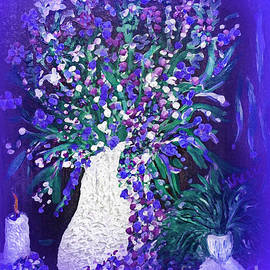 Flower Art  Spring flowers In A Vase by Sherri's - Of Palm Springs