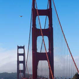 Bonnie Follett - Fly By at the Golden Gate Bridge