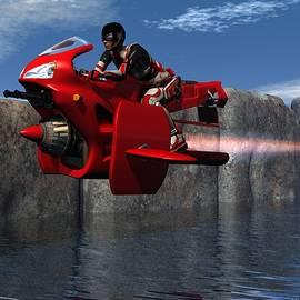 Michael Wimer - Flying Along the Coastline