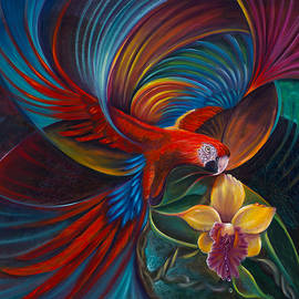 Sherry Strong - Flying Macaw
