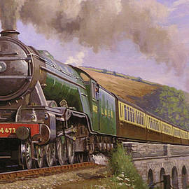 Flying Scotsman at Torbay. - Mike Jeffries