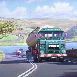 Mike Jeffries - Foden in the lake district