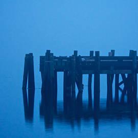 Shrouded in Fog, Morro Bay by Flying Z Photography by Zayne Diamond