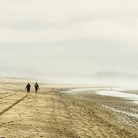 Foggy Beach Morning - Oregon by Stuart Litoff