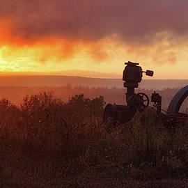 Susan Capuano - Foggy Fall Sunset