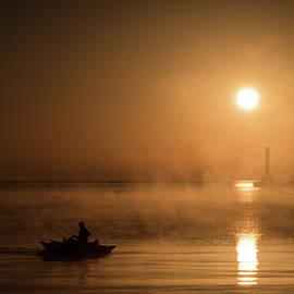 James Meyer - Foggy Fire Boater