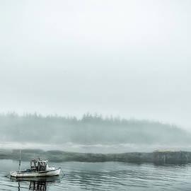 Gestalt Imagery - Foggy Morning on Schoodic