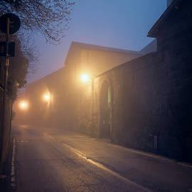 Joan Carroll - Foggy Morning Orvieto Italy