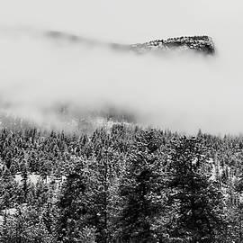 Foggy Mountain Peak - Estes Park by Angie Tirado