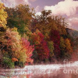 Dan Carmichael - Foggy Price Lake - Autumn in the Blue Ridge AP