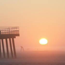 Bill Cannon - Foggy Sunrise in Wildwood Crest