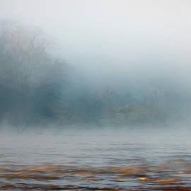Foggy Sunrise on the River by Francis Sullivan