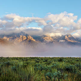 Brian Harig - Foggy Teton Sunrise - Grand Tetons National Park Wyoming