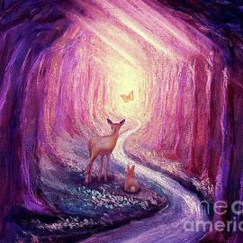 Follow the light - purple by Yoonhee Ko