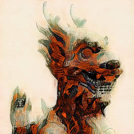 Foo Dog by Susan Maxwell Schmidt