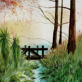 Janice Sobien - Footbridge