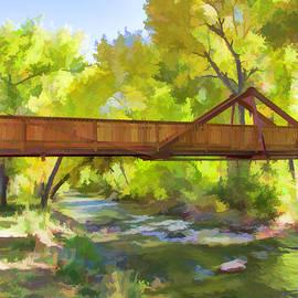 Lorraine Baum - Footbridge Over Bear Creek