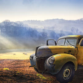 Ford in the Fog by Debra and Dave Vanderlaan