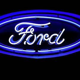 Ford Neon Sign by Miles Whittingham