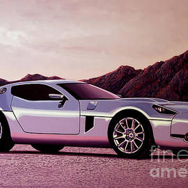 Ford Shelby GR 2005 Painting by Paul Meijering