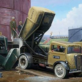 Fordson cement truck. - Mike Jeffries