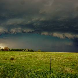Ed Sweeney - Foreboding Skies at the Ranch