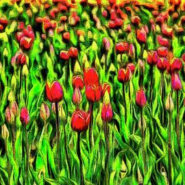Mark Kiver - Forever Tulips