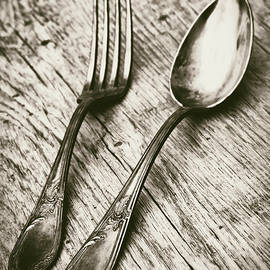 Fork And Spoon by Wim Lanclus