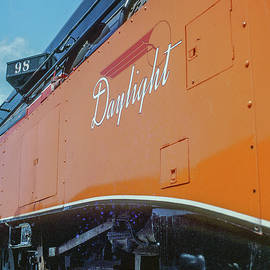 Former Southern Pacific Locomotive No. 4449 Restored In Daylight Livery  by Frank DiMarco
