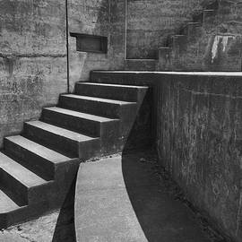 Fort Casey Steps 3939 by Bob Neiman