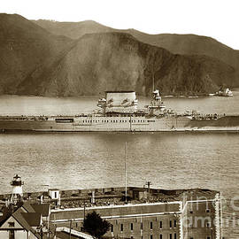 Fort Point Golden GateSan Francisco Bay March 31 1928 by California Views Archives Mr Pat Hathaway Archives