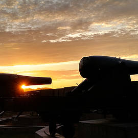 Fort Trumbull Cannons - New London CT by Kirkodd Photography Of New England