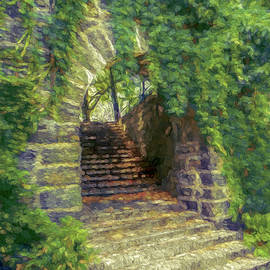 Fort Tryon Park Archway by Jon Woodhams