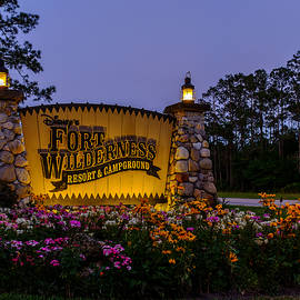 Fort Wilderness Resort And Campground 2 by Chris Bordeleau