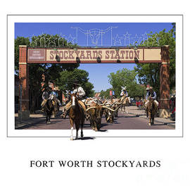 Fort Worth Stockyards by Priscilla Burgers